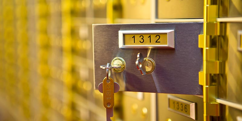 safety deposit boxes Birmingham